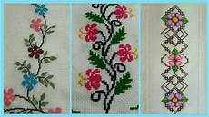 cross stitch border design ideas cross stitch