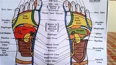 Reflexology Chart Reflexology How To Read A Foot Reflexology Chart Youtube