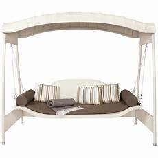 garden swing sofa contemporary woven outdoor swing sofa