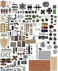 Designer Furniture Plans Texture Psd Plan View Floor Photoshop In 2019