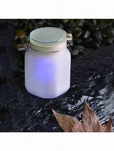 Jam Jar Garden Lights Minisun 19496 Led Outdoor Solar Jam Jar Garden Light
