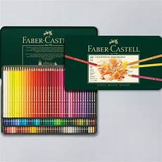 faber castell polychromos artist pencils in a tin set of