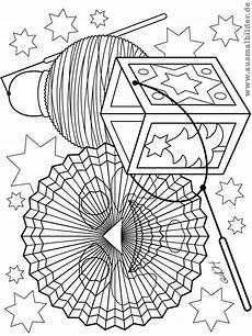 malvorlagen laternen ausmalen kinder zeichnen und ausmalen