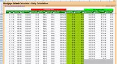 Mortgage Calculator Excel Sheet Free Mortgage Offset Calculator Excel Spreadsheet