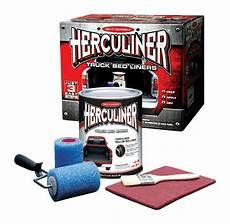 herculiner diy truck bed liner roll on kit hcl0b8 ebay
