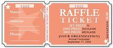Wording For Raffle Tickets Sample Raffle Ticket Templates Formal Word Templates