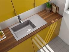 lavello cucina incasso lavandino lavello incasso cucina mineralite 86 x 50 grigio