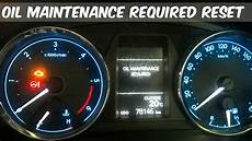 How To Take Off Maintenance Light On Toyota Corolla 2010 Reset Maintenance Light Toyota Corolla 2016