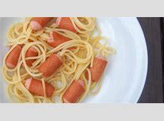 Hairy hot dogs or scary spaghett   Recipe   Hot dog
