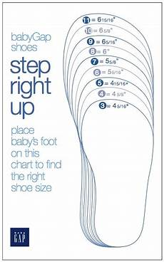 Measure Toddler Shoe Size Chart Baby Gap Shoes Size Chart Bausterbauster