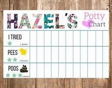 Potty Training Sticker Chart Ideas Potty Training Chart Potty Training Girls