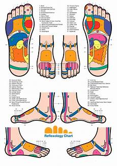 Spinal Pressure Points Chart Foot Reflexology Chart Pressure Points For Foot