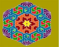 Color Kolam Designs With Dots Color Kolam Entertainment