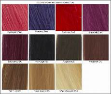 Reed Hair Color Chart Lena Hoschek How To Use Hair Color Chart Shades Of Red