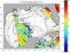 Sst Charts Rutgers Gulf Of Mexico Sea Surface Temperatures Monday July 25