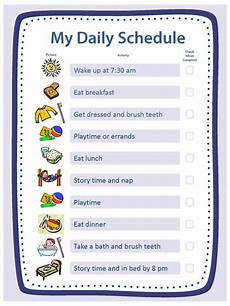 Daily Routine Format Creating Structure Activities Essentials Parenting