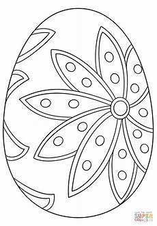 fancy easter egg coloring page free printable coloring pages