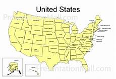 united states powerpoint map editable united states powerpoint map