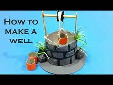 How To Create A Science Project How To Make A Well Science Project Pulley Youtube