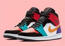 Designer Of Air Jordan 1 Air Jordan 1 Mid Multi Color 554724 125 Sneakernews Com