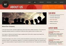 About Us Page Design Pinterest Freebie Release Quot Biz Quot Business Website Psd Templates
