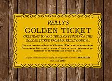 Golden Ticket Invitation Download Golden Ticket Pdf Invitation Bought By Imperiumroyale