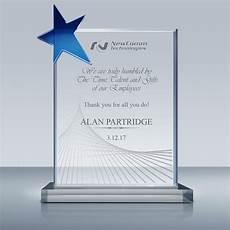 Appreciation Award Employee Recognition Star Plaque 027 Goodcount