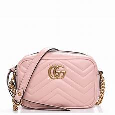 Bag Light Pink Gucci Calfskin Matelasse Mini Gg Marmont Bag Light Pink 218221