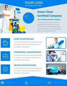 Examples Of Cleaning Business Flyers Free Cleaning Service Flyer Psd Template Cleaning