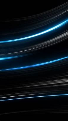 4k Black Wallpaper For Android by Wallpaper Lines Black Blue 4k Os 15378