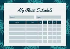 Cute Class Schedule Maker Customize 2 722 Class Schedule Templates Online Canva