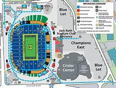 Arbor Stadium Seating Chart Michigan Stadium Arbor Mi Seating Chart View