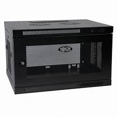 tripp lite 6u wall mount rack enclosure cabinet wallmount