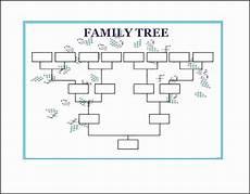Free Family Tree Template Word Doc 10 Family Tree Word Template Sampletemplatess