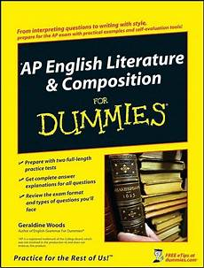 Essays For Dummies Ap English Literature Amp Composition For Dummies By