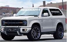 2020 ford bronco 2020 ford bronco rendering pictures specs news