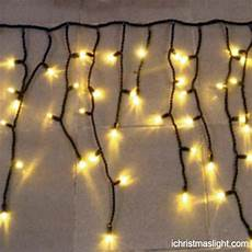 Warm White Christmas Lights Outdoor Warm White Outdoor Icicle Christmas Lights Ichristmaslight