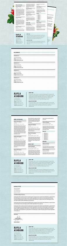 Blue Resume Paper Stylish Blue Resume Template Pkg Resumes Resume Cover
