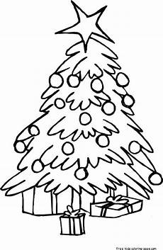 printable tree coloring pages for kidsfree