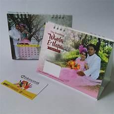 undangan pernikahan kalender meja duduk percetakan murah