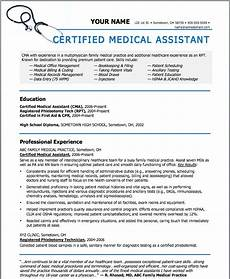Medical Assistant Job Description For Resume Sample Resumes For Medical Assistant Sample Resumes