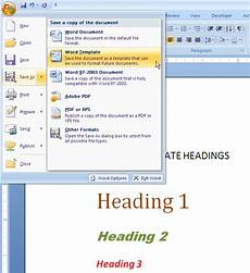 Template Word 2007 How To Switch Templates For A Ms Word 2007 Or Word 2010