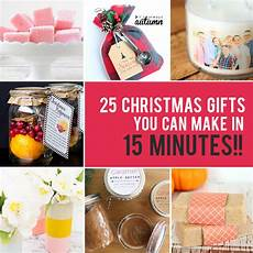 25 easy gifts you can make in 15