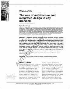 Culture Architecture And Design Pdf Pdf The Role Of Architecture And Integrated Design In
