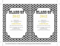 Design Graduation Invitations Online Free 40 Free Graduation Invitation Templates Template Lab