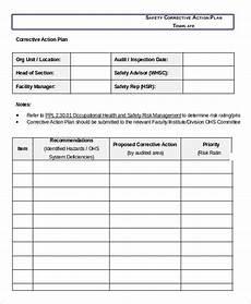 Corrective Action Plan Form Corrective Action Plan Emmamcintyrephotography Com
