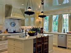 kitchen island decorating ideas how to decorate a galley kitchen hgtv pictures ideas