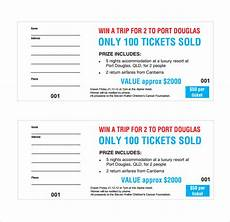 Fundraising Tickets Templates For Free 14 Raffle Ticket Templates Ms Word Excel Amp Pdf Formats