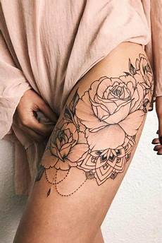 Rose Designs On Leg 33 Rose Tattoos And Their Origin Symbolism And Meanings