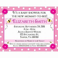 Customizable Invitation 20 Personalized Baby Shower Invitations To Bee Ebay